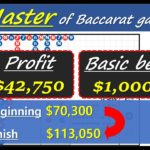 Martingale betting of Baccarat Master #13 [#百家乐 #바카라 #バカラ #bacará #баккара́]